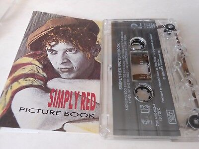 SIMPLY RED   cassette    PICTURE BOOK  10 tracks