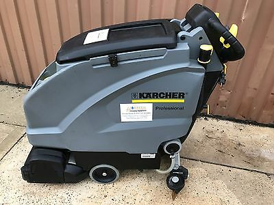 Karcher B40 Ep 240volt with R55 brush head floor scrubber drier