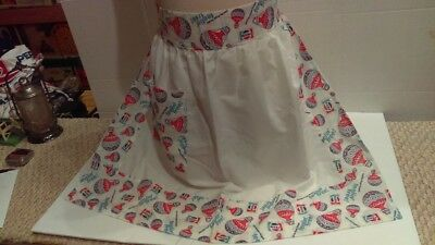 Vintage 1973 Pepsi Feelin Free Cloth Cooking Apron