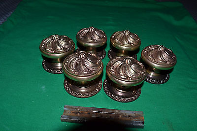 """""""3"""" Sets Of Brass Door Knobs,  Rosettes, Beautiful Sets, Made In Spain"""