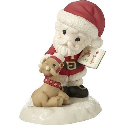 Precious Moments 'All Things Are Possible If You Believe' Santa Series 171011