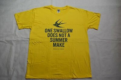 Downton Abbey One Swallow Does Not A Summer Make T Shirt New Official Tv Show
