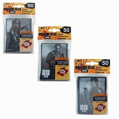 50 The Walking Dead Sleeves von Ultra Pro (66x91mm)