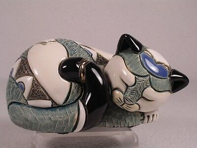 Rinconada Family Collection #F355 'Baby Cat Resting' New In Box