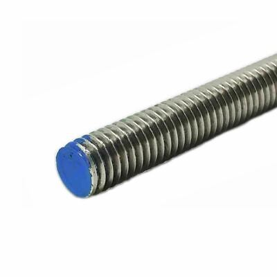 18-8 Stainless Steel Threaded Rod, Size: 1-8, Length: 36 inches