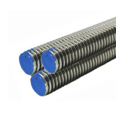 18-8 Stainless Steel Threaded Rod, Size: 1-8, Length: 36 inches (3 Pack)
