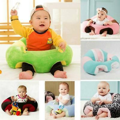 Lovely Gift Infant Baby Kids Support Seat Soft Car Pillow Cushion Plush Toys LC