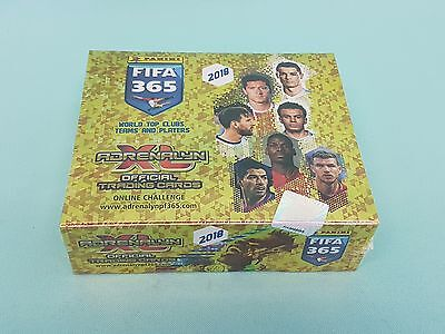 Panini Adrenalyn XL FIFA 365 2018 1 x Display mit 24 Booster Trading Cards