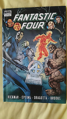 Fantastic Four: Volume 4 Hardcover Graphic Novel