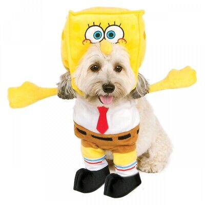 Spongebob Squarepants Costume Pet Spongebob Squarepants Halloween Fancy Dress