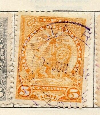 Paraguay 1904-06 Early Issue Fine Used 5c. 181445