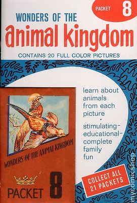 Wonders of the Animal Kingdom Stamp Packets (1959) #8 VF+ 8.5