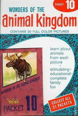 Wonders of the Animal Kingdom Stamp Packets (1959) #10 NM- 9.2