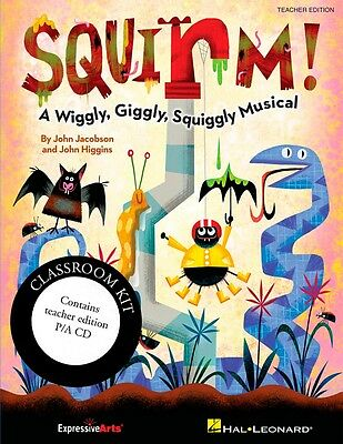Hal Leonard Squirm! A Wiggly, Giggly, Squiggly Musical Classroom Kit