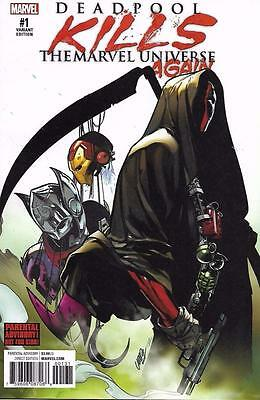 Deadpool Kills the Marvel Universe Again 1 Variant Larraz 1:25 FREE SHIP
