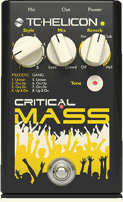 TC HELICON CRITICAL Mass Vocal Stompbox for Large Group