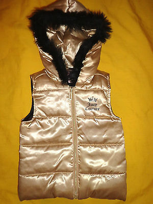 Juicy Couture Baby Girl Vest 24 Months Gold Color