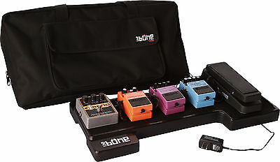 Gator G-BONE Molded PE Pedal Board with Power Supply and Carry Case