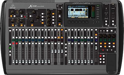 Behringer X32 32-channel 16-bus digital mixing console for live or recordin