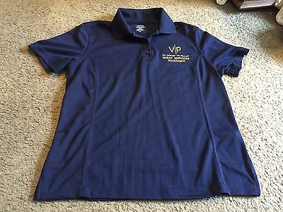 Women's M Medium extreme performance Venetian Palazzo casino shirt Las Vegas