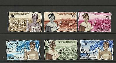 Haiti ~ 1960 World Sugar Queen ~ Miss Claudinette Fouchard (Used Set)