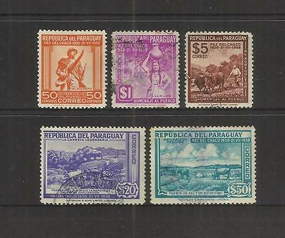 Paraguay ~ 1940 Chaco Boundary Peace Conference (Part Set)