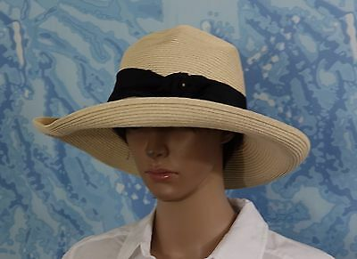 c05932ab9b6b PHYSICIAN ENDORSED WOMEN'S Gemini Ribbon Chin Strap Packable Sun Hat ...