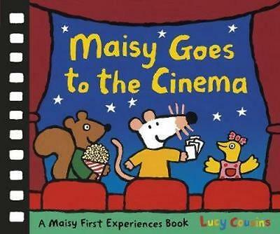 NEW Maisy Goes to the Cinema By Lucy Cousins Hardcover Free Shipping