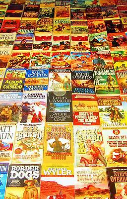 MIXED AUTHOR Softcover Book Lot of 101 - WESTERN/COWBOY/INDIAN/WILD WEST