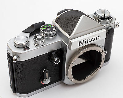 Nikon F2 Eye Level DE-1 Finder 35mm SLR Film Camera Body EX +++