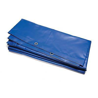 TRS PVC Race / Rally Service Area / Paddock Ground Sheet In Blue - 6m x 3.5m