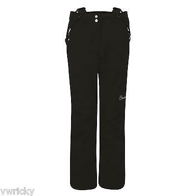 WOMENS DARE2B STAND FOR II BLACK Stretch Ski Pants Trousers Sizes 22-30 PLUS