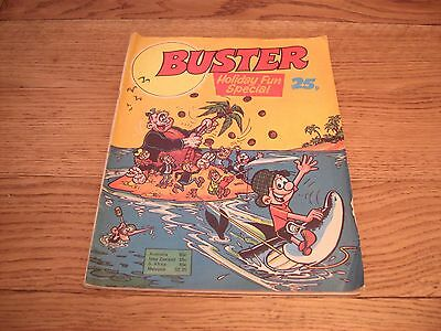 Buster Comic Holiday Fun Special 1977 X-Ray Specs Pete'S Pocket Army Kid Kong Gu