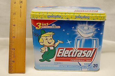 Limited edition Jetsons ELROY Electrasol Tin Box character advertising