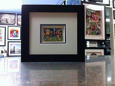 "James Rizzi 3-D "" Find Somebody To Love  "" Signed & Numbered 2002 Mini Framed"