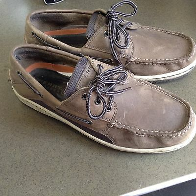 Men's Top Sider Sperry Boat Shoes  Size Men's 9M
