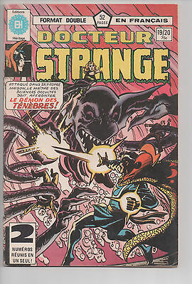 DOCTOR STRANGE #19/20 french comic français EDITIONS HERITAGE