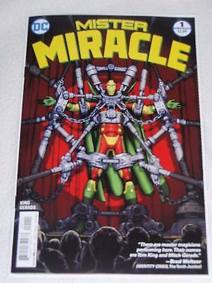 MISTER MIRACLE #1 TOM KING DC COMICS 1st Print Brand New NM  Bagged + Boarded