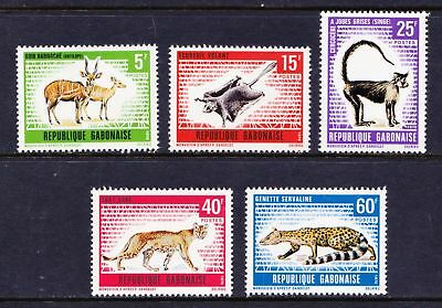 GABON 1970 Wild Animals - Cat, Monkey  - MNH Set - Cat £10.30 - (44)