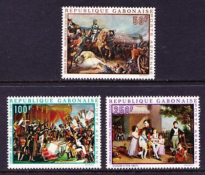 GABON 1969 Paintings of Napoleon Bonaparte ART - MNH - Cat £5.40 - (41)