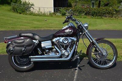 """2007 Harley-Davidson Dyna  2007 Harley Davidson Dyna Wide Glide FXDWG 96"""" Injected Stage 1 Vance Hines Pipe"""
