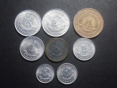 3418  East Germany- Eight Coins