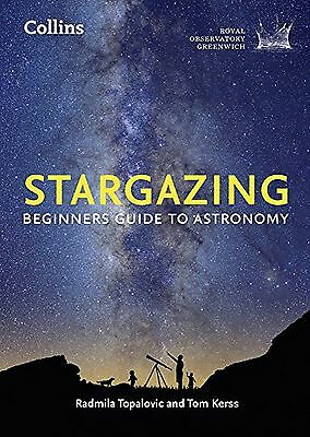 Collins Stargazing Beginners Guide To Astronomy Royal Observatory Greenwich Book