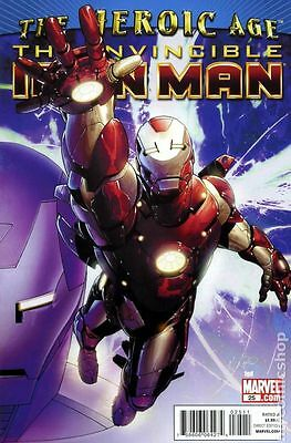 Invincible Iron Man (2008) #25A FN