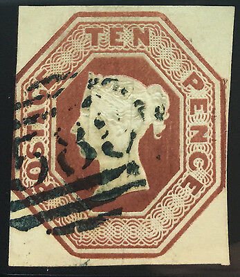 GREAT BRITAIN  6  Very Nice Used  Issue   OD 80