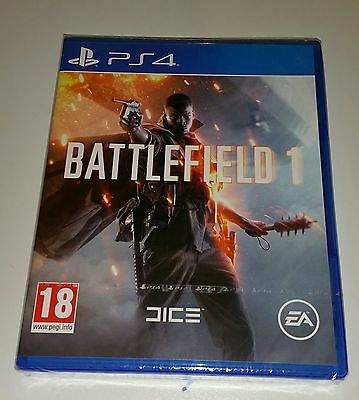 Battlefield 1 PS4 NEW & SEALED Sony Playstation 4 Game PAL UK Battle Field one