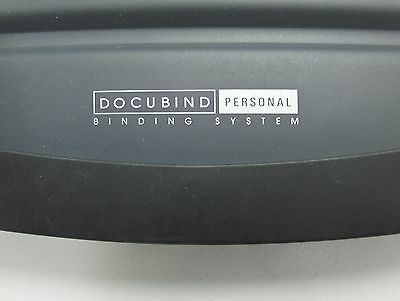 DOCUBIND Personal Punching and Binding System by GBC