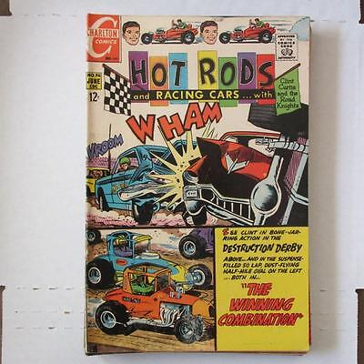 Hot Rods and Racing Cars (Charlton) 96 FN  SKU17360 25% Off!