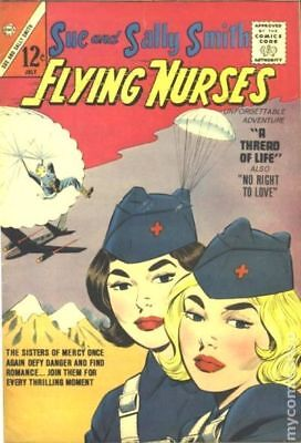 Sue and Sally Smith Flying Nurses (1962) #52 GD/VG 3.0 LOW GRADE