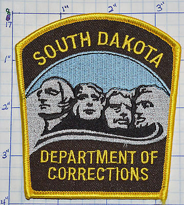 South Dakota Department Of Corrections Police Dept Version 2  Patch